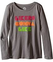 Life is Good Kids - Likers Gonna Like Long Sleeve Tee (Little Kids/Big Kids)