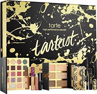 TARTE Limited-Edition Tarteist 20 x 0.035 oz/ 1.03 g Eyeshadow in Classic (cream), Innocent (soft peach), Whimsy (brick), Smoked (dark brown), Ethereal (bronze), Vintage (ivory), Fierce