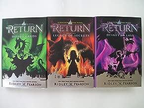 Kingdom Keepers: The Return Series (Set of 3) Lands Legacy Disney...