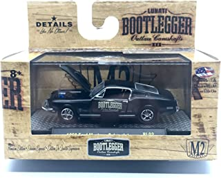 M2 Machines 1968 Ford Mustang Cobra Jet Bootlegger Series Release BL02 - Castline 2016 Special Edition 1:64 Scale Die-Cast Vehicle (BL02 16-30)