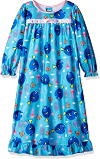 Finding Dory Nemo Girls Flannel Granny Gown Nightgown Pajamas (Little Kid/Big Kid)