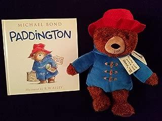 kohl's paddington bear plush and book bundle