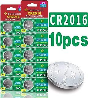CR2016 3V Lithium Battery (10-Pack)
