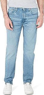 Levi's Erkek Skinny Kot Pantolon 502 TAPER BASS MID, Mavi, W56 (Üretici Ölçüsü 32)