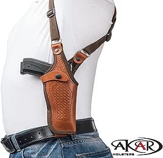 Akar Vertical Shoulder Leather Holster for 1911 3