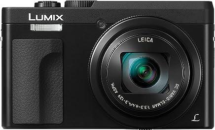 "Panasonic DC-ZS70K Lumix 20.3 Megapixel, 4K Digital Camera, Touch Enabled 3"" 180 Degree Flip-Front Display, 30x Leica DC Vario-Elmar Lens, Wi-Fi with 3"" LCD, Black"