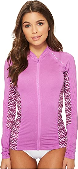 Trestles Long Sleeve Front Zip