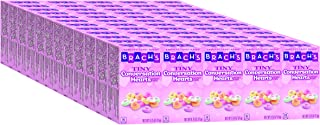 Brach's Tiny Conversation Hearts Candy, 5 Count Hand Out Boxes (Pack of 12)