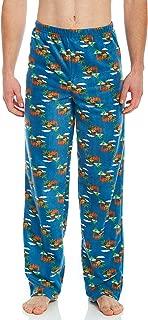 Men's Pajamas Pants Fleece Lounge Sleep Pj Bottoms Christmas Pjs (Size XSmall-XXLarge)