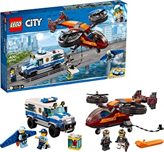 LEGO City Sky Police Diamond Heist 60209 Building Kit, 2019 (400 Pieces)