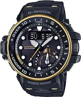 [カシオ] 腕時計 ジーショック GULFMASTER 電波ソーラー GWN-Q1000GB-1AJF メンズ ブラック