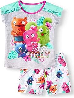 Ugly Dolls Little Girls Short Poly Sleep Set