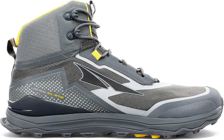 ALTRA Men's AL0A4VQH Lone Peak Trail Running specialty shop Shoe All-WTHR mart Mid
