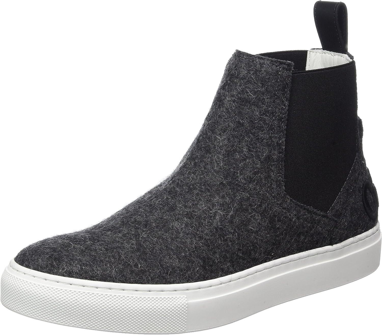 Hugo Women's Erin-ft 10202341 01 High Sneaker