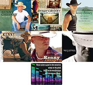 Kenny Chesney: Top 6 Studio Albums Ultimate Country CD Collection with Bonus Art Card (Hemingway's Whiskey / Be As You Are / The Road and the Radio and More)