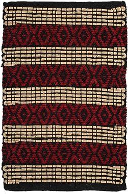 Dynamic Homes 100% Cotton Doormat Set of 2