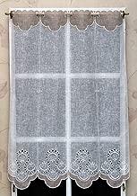 Si vous nachetez quun seul article 308330.90 Veuillez noter une chose IMPORTANTE Rideau Brise bise 90 cm Blanc Brillant R/éf 1 unit/é = 14 cm de largeur vous recevrez un rideau minuscule dune largeur de seulement 14 cm.
