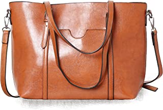 Ladies Handbags Top Handle Satchel Shoulder Bag Crossbody Tote Leather Purse Women