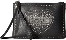 Brighton - Love Stud Convertible Pouch