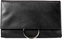 Nora Ring Flap Clutch