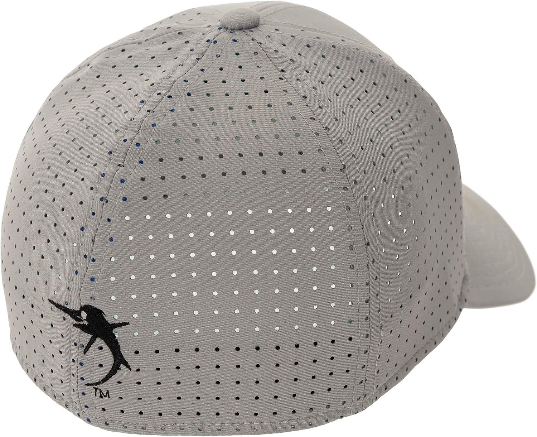 Guy Harvey Mens Perforated Performance Logo Hat