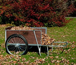 product image for M26S Large Yard/Garden Cart with Semi-Pneumatic Wheels
