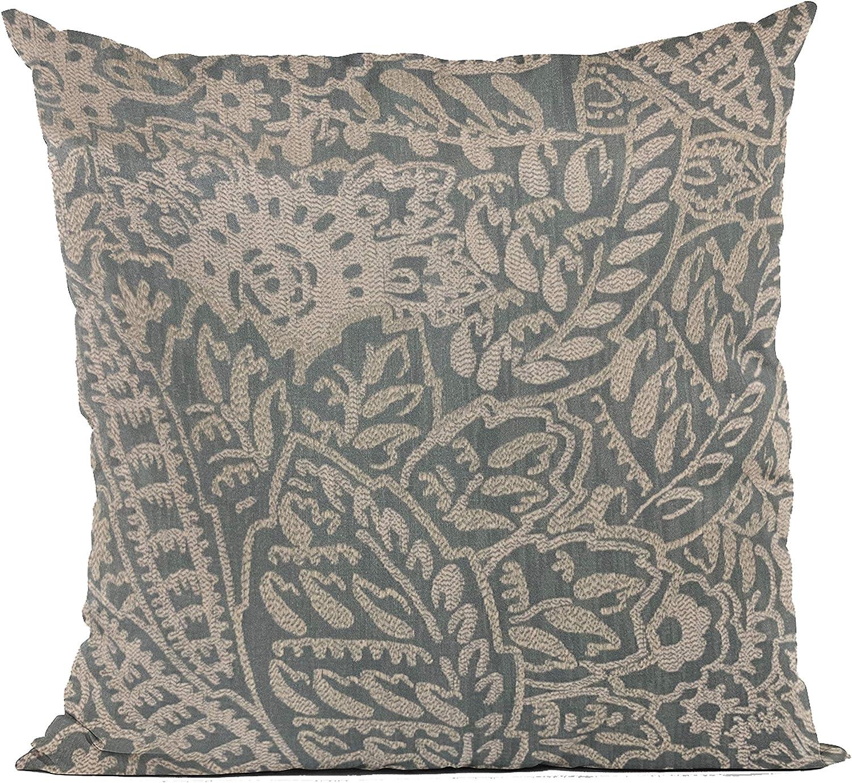 Plutus Max 62% OFF Mesa Mall Brands Gray Festive Jacquard Luxury Pillow 1 Throw