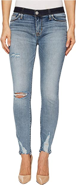 Hudson - Nico Mid-Rise Crop Super Skinny Jeans in Game Changer
