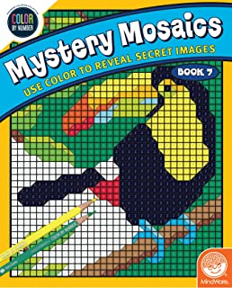 MindWare Color by Number Mystery Mosaics: (Book 7)