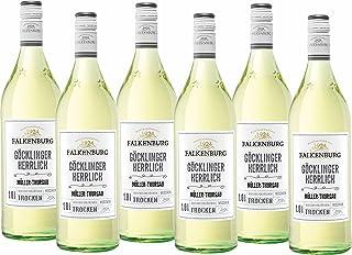 Falkenburg Müller Thurgau Göcklinger Herrlich Qualitätswein trocken 6 x 1 l