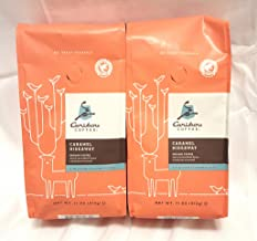 Caribou Coffee Caramel Hidaway Flavored Ground Coffee- 2 Pack