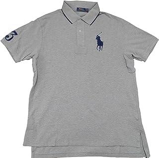 f0c70706758f8f Polo Ralph Lauren Mens Big & Tall Mesh Classic Fit Big Pony Polo Shirt