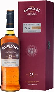 Bowmore 23 Jahre 1989 Port Cask Matured Limited Release mit Geschenkverpackung Single Malt Scotch Whisky 1 x 0.7 l