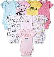 Onesies Brand - Body de Manga Corta para bebés y niñas (8 Unidades)