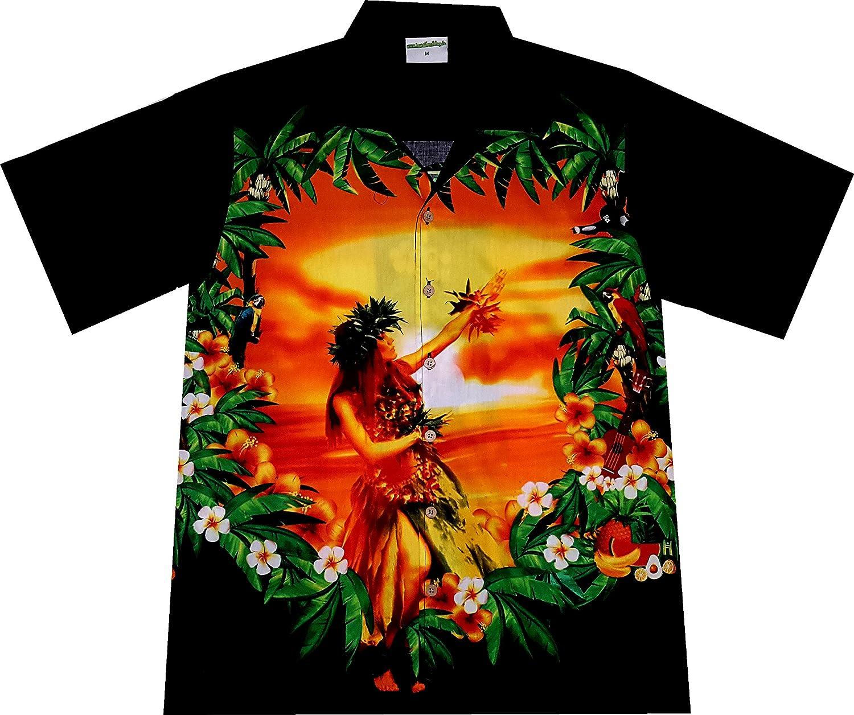 Hawaiihemd   Hawaii Hemd Hawaiian Beauty   100 100 100 Prozent Baumwolle B01MU6XCQS  Allgemeines Produkt ea07b3