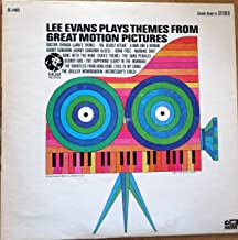 LEE EVANS PLAYS THEMES FROM GREAT MOTION PICTURES - vinyl lp. DOCTOR ZHIVAGO (LARA'S THEME) - THE DEADLY AFFAIR - A MAN AND A WOMAN - HURRY SUNDOWN (HURRY SUNDOWN BLUES) - BORN FREE - WARNING SHOT, AND OTHERS.