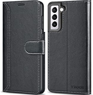 "ykooe for Samsung Galaxy S21 Plus Case 6.7"", Galaxy S21 Plus 5G Wallet Case Classic PU Leather Flip Fold Protective Cover ..."