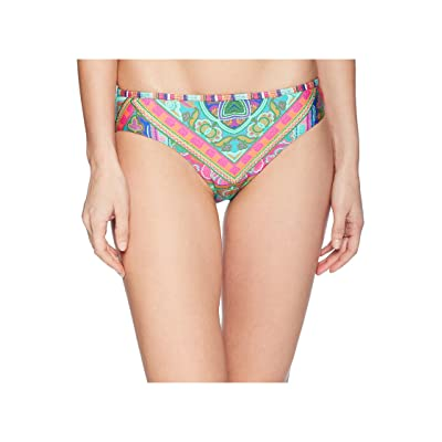 Laundry by Shelli Segal Scarf Medallion Reversible Bikini Bottom (Multi) Women
