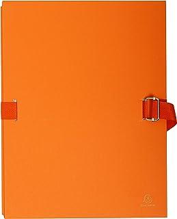 24x32 cm Giallo Exacompta 38006H Faldoni con Dorso Estensibile