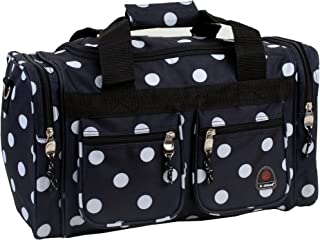 Luggage 19 Inch Tote Bag, Black Dots, One Size