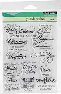 Penny Black Clear Stamp Set, 30-382,Yuletide Wishes, 5