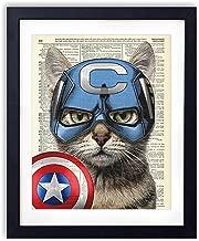 captain america original comic art