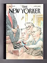 The New Yorker Magazine (June 3, 2019) The Shining - President Donald Trump: Lindsey Graham, William Barr, and Mitch McConnell