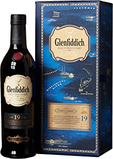 Glenfiddich 19 Years Old Age of Discovery 2nd Release Bourbon Cask Reserve mit Geschenkverpackung Whisky 1 x 0.7 l