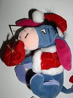 Disney - Santa Eeyore with Santas Bag - Mini Bean Bag