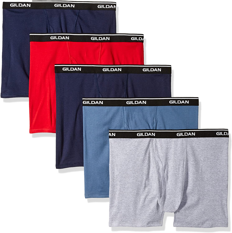 Gildan Platinum Men's Short Leg Boxer Briefs