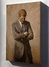 Canvas 24x36; John F. Kennedy, Official White House Portrait