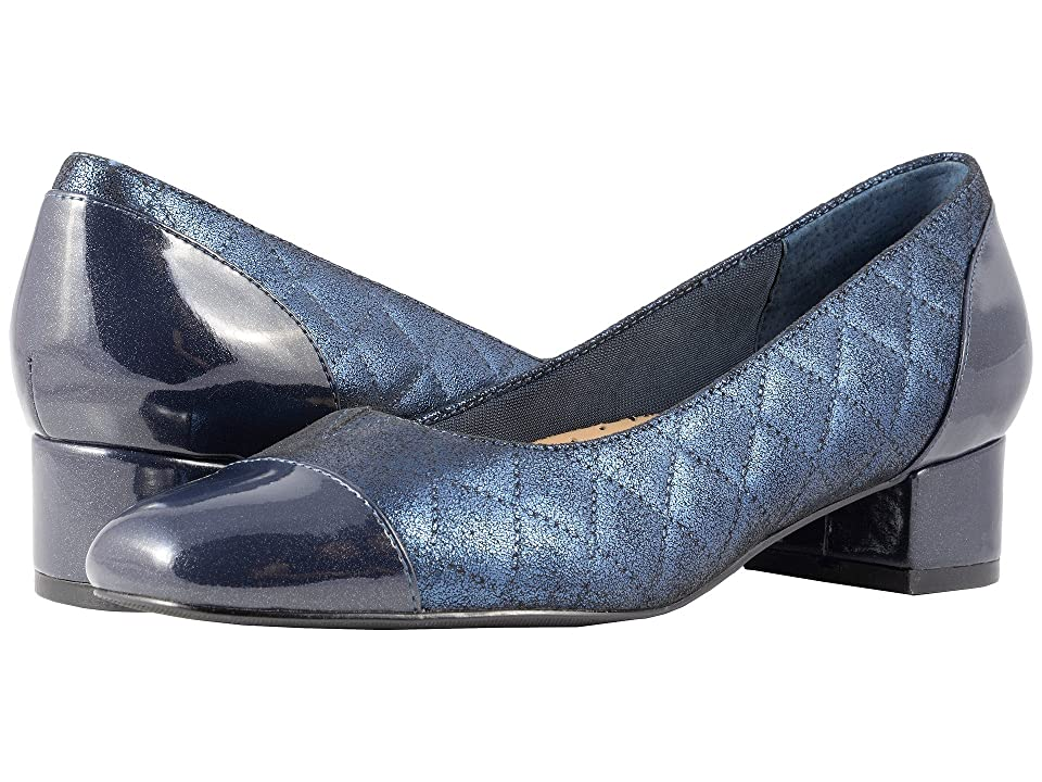 Trotters Danelle (Navy Quilted) Women