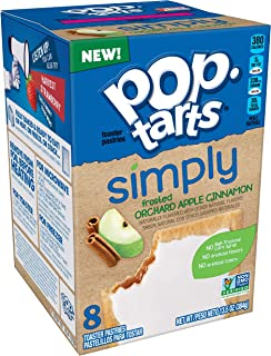 Simply Pop-Tarts, Toaster Pastries, Frosted Orchard Apple Cinnamon, Non-GMO Project Verified, 13.5oz