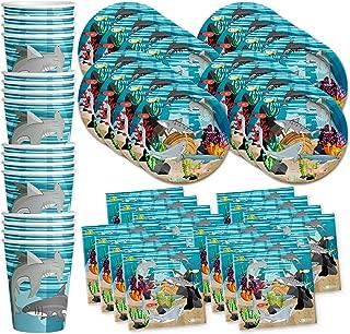 Best shark birthday plates Reviews